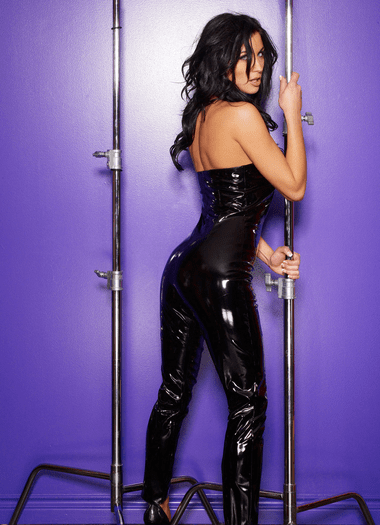 Sexy Patent Catsuit