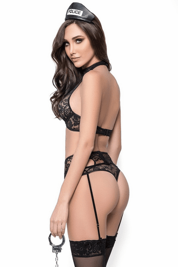 Sexy Police Lingerie Costume