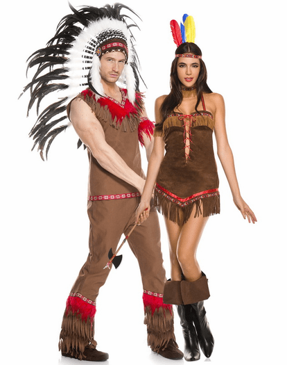 Sexy Tribal Princess Native American Costume