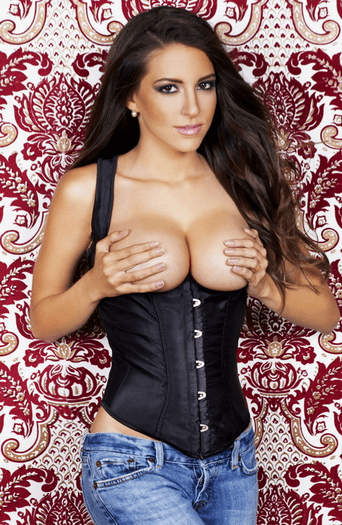 She Is The Bomb Sexy Underbust Corset