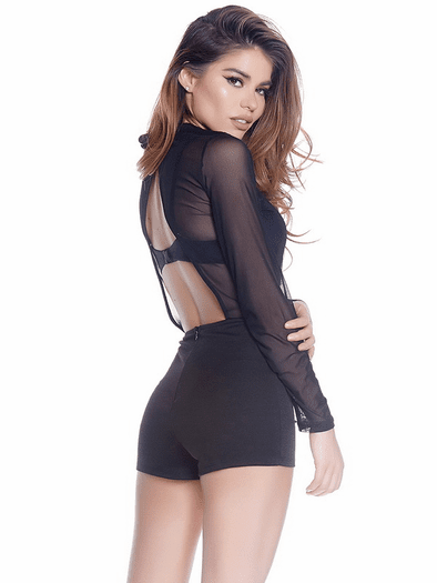 Sheer Up Sexy Romper