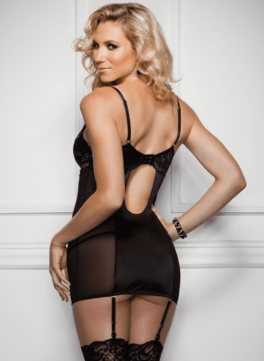 Shimmer Seduction Sexy Chemise