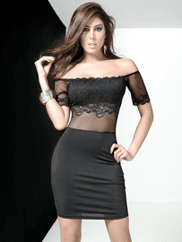 Show Stopper Lace Bodycon Dress