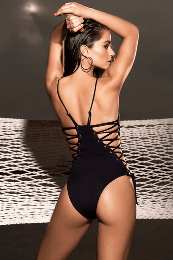 Side Lace UP Monokini