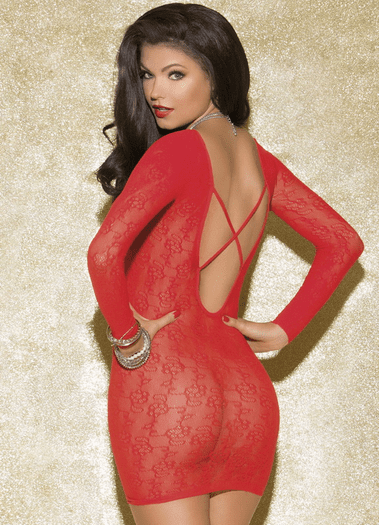 Simply Fetching Lace Chemise