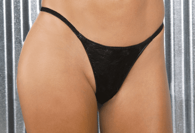 Simply Sexy Leather G-string