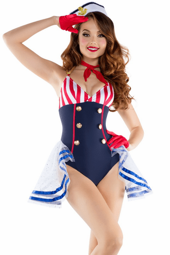Skimpy Sailor Cute Costume