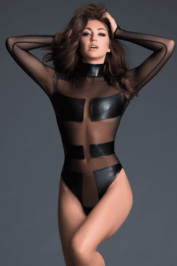 Sleek Sheer Bodysuit