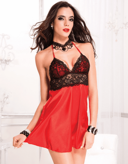 Sleep In Sexy Satin Chemise