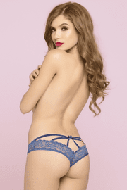 So Tempting Crotchless Lace Panty