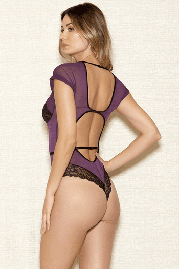 Soft Cup Lace Teddy