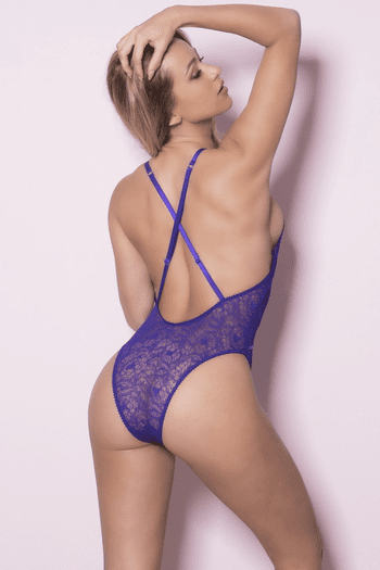 Soft Lace Up Teddy
