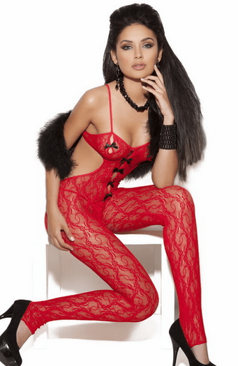 Spanish Hot Lover Bodystocking