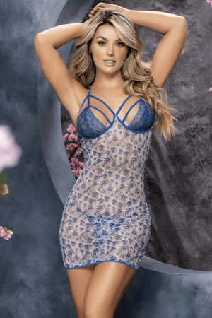 Eye Candy Sheer Mesh Chemise