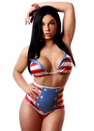 Star Spangled Sexy Sailor Top