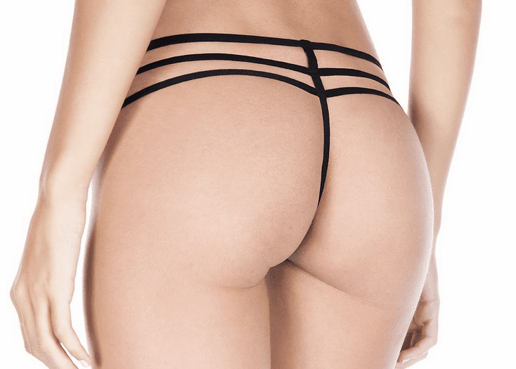 Strappy Lace G-String