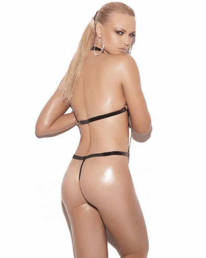 Strappy Sexy Thong Back Teddy