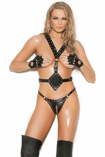 Studded Leather Harness