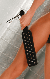 Studded Leather Paddle