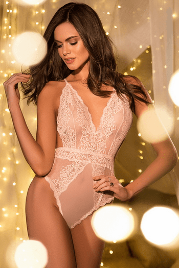 Stunning Floral Lace Teddy