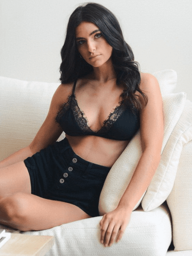 Sultry Eyelash Lace Bralette