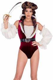 Sultry Pirate Halloween Costume