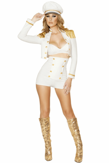 Sultry Sailor Babe Sexy Costume