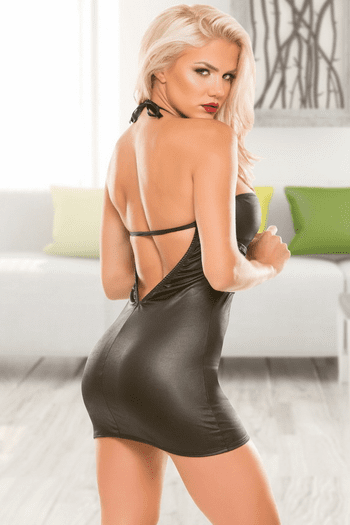 Sultry Wetlook Dress