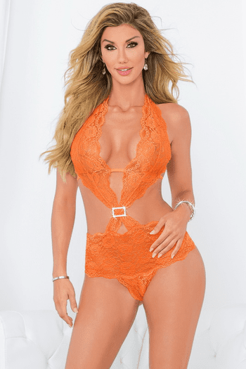 Sunset Lace Teddy