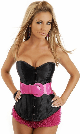 Super Chic Belted Corset