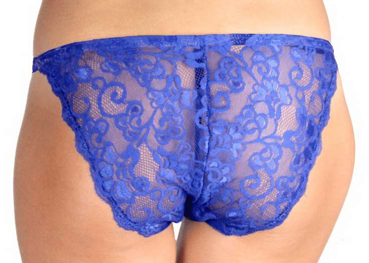 Superman Lace Back Panty