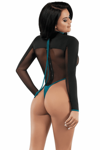 Surf Fantasy Teddy Role Play Lingerie Costume