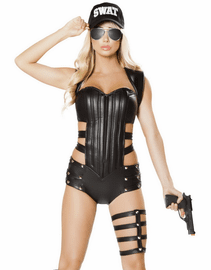 SWAT Sultry Babe Costume
