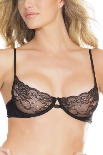 Sweet Dreams Black Lace Bra