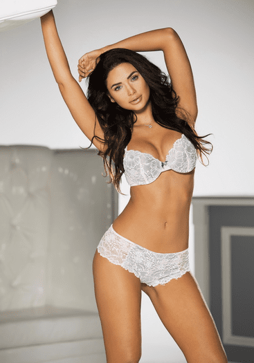 Sweet Surrender Lace Hipster Panty