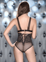 Take The Night Bralette & High Waist Panty Set