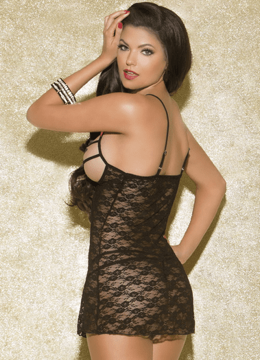 Take Your Time Sexy Lace Chemise