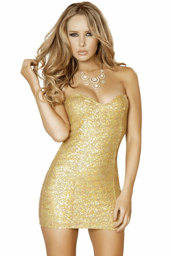 Taking Over The Club Sexy Sequin Mini Dress