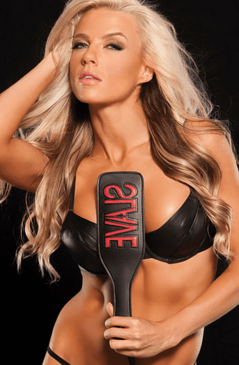 Talk Dirty To Me Slave Paddle