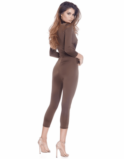 Thinking About You Capri Jumpsuit