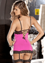 Thrill Of The Night Chemise & G-String Set