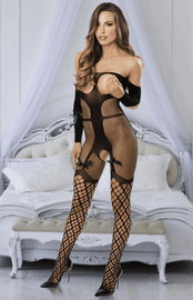 Tie Me Down Cupless Bodystocking