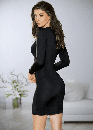 Too Hot To Handle Long Sleeve Dress
