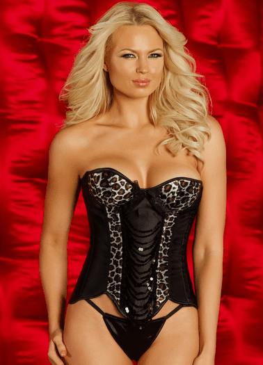 Too Sexy For You Corset