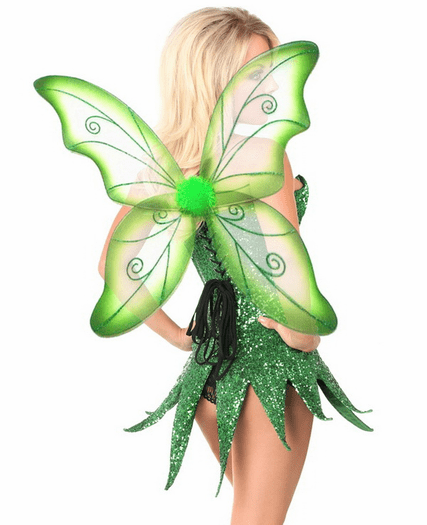 Top Drawer Green Sequin Fairy Costume