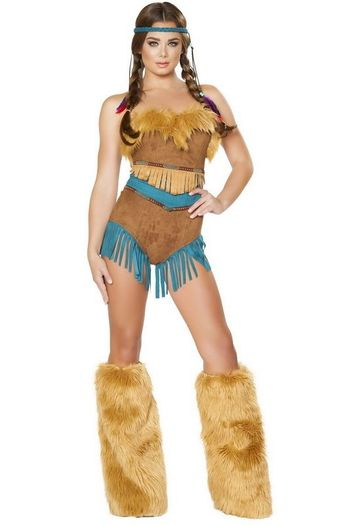 Tribal Vixen Native American Costume