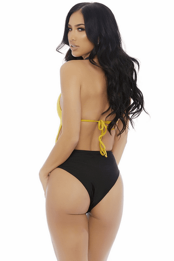 Two Toned Monokini