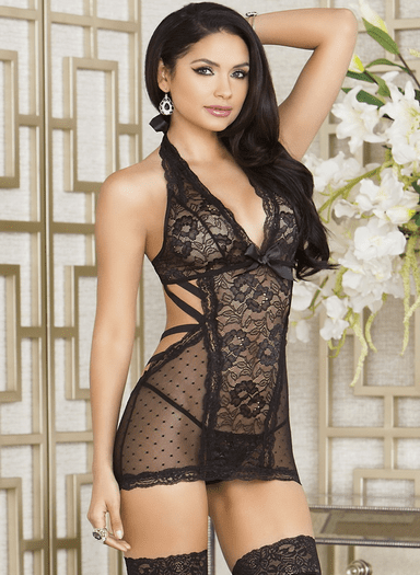 Ultimate Seduction Chemise & Thong Set