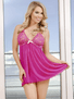 Undress Me Tonight Babydoll & Thong Set