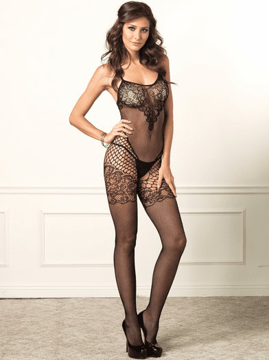 Victorian Lace Sexy Bodystocking